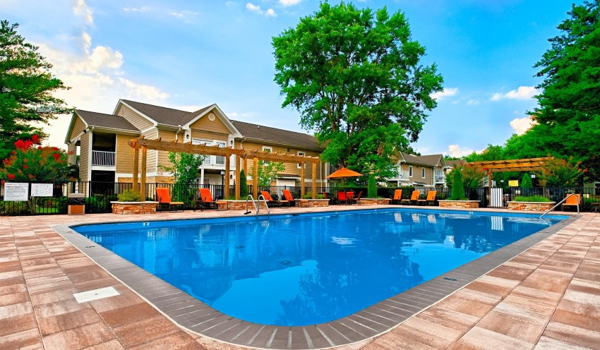 Swimming Pools in many lofts, townhomes, and apartment homes