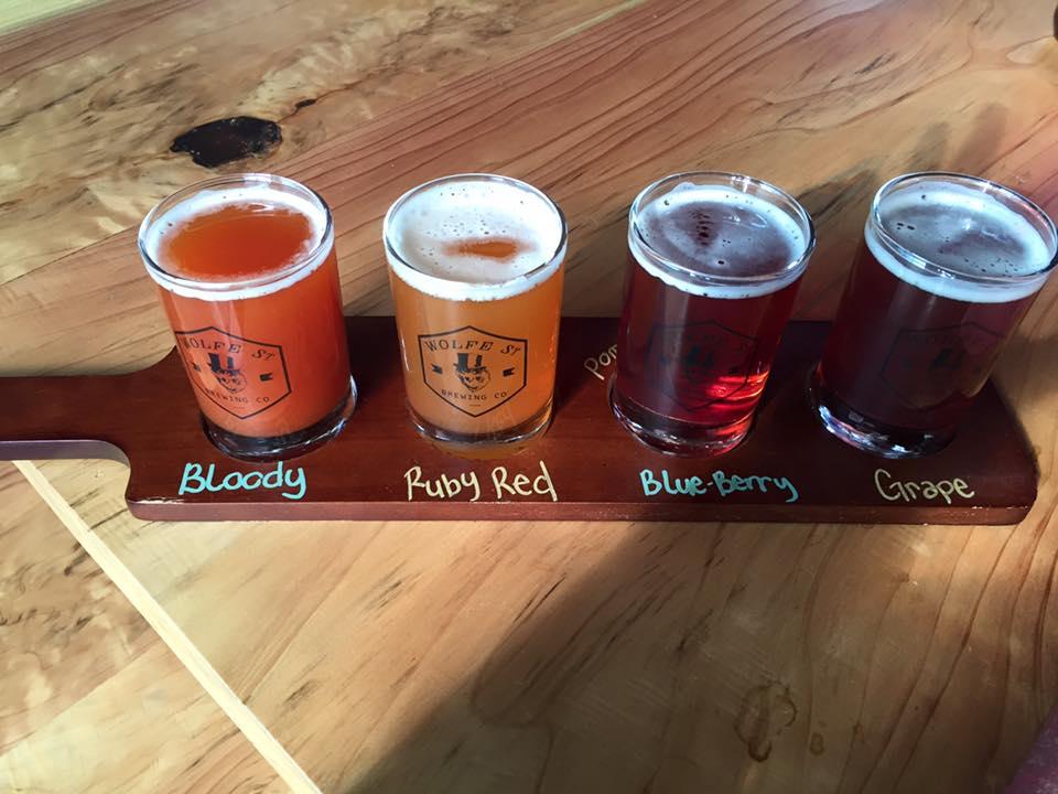 Beermosa flight @ Wolfe Street Brewing.jpg