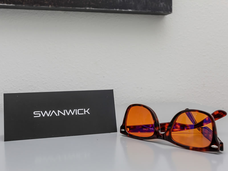 Swanwick Glasses - These glasses will supercharge your sleep and health by blocking harmful blue light from electronic devices while letting in all other safe light