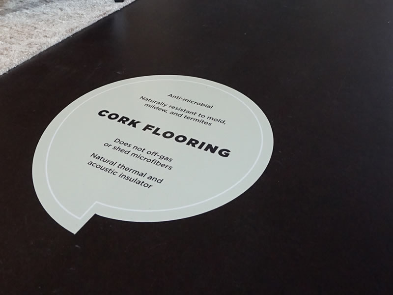 Cork flooring - Anti-microbial and mold resistant