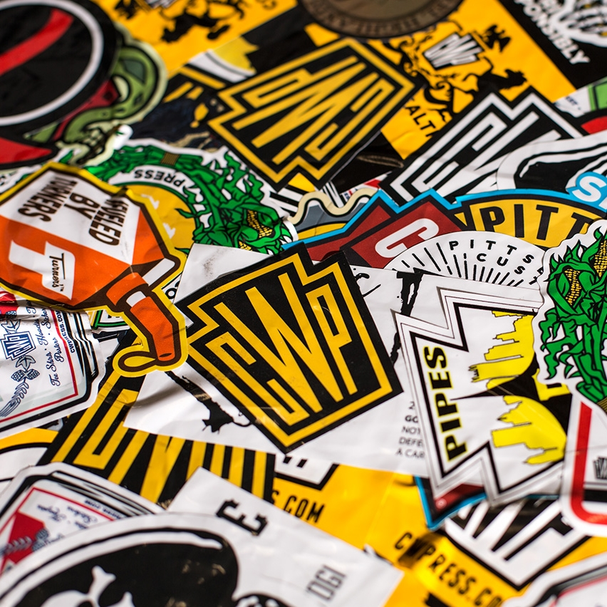 STICKERS - We can do any size, shape, or color.
