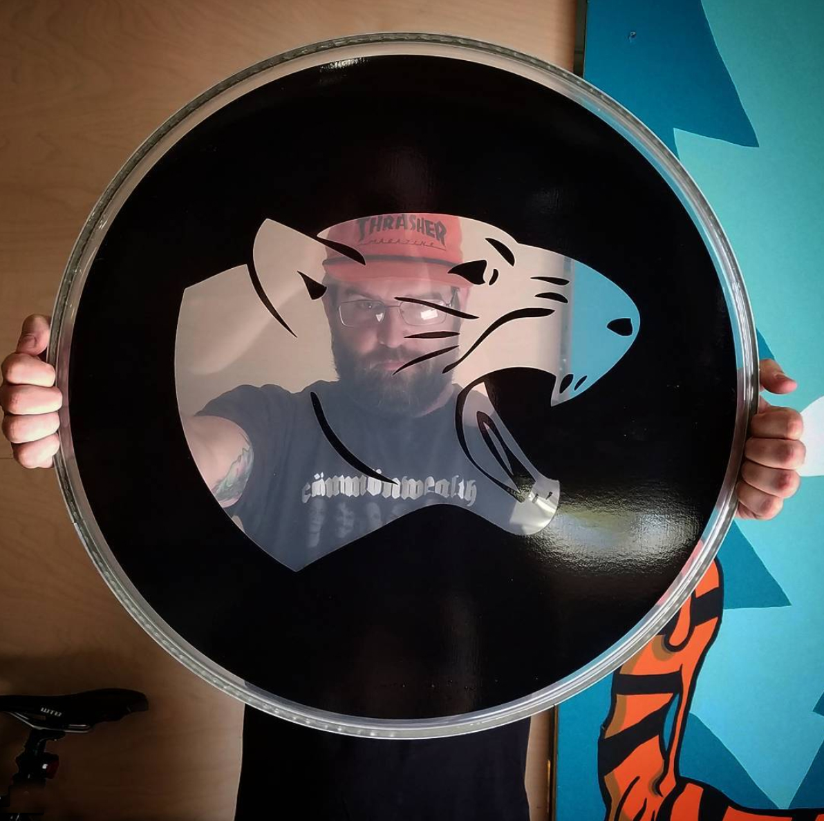 DRUM HEADS - Yup we can do that too.