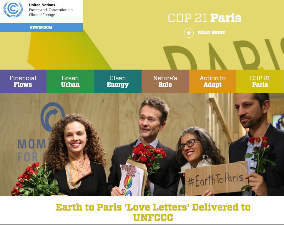 COP21 Climate Activism in Paris