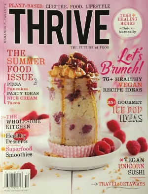 Thrive Magazine - featuring Hungry Planet