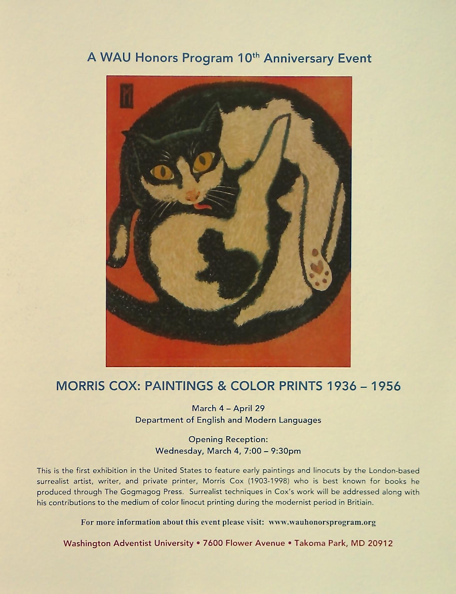 Morris Cox exhibition flyer 2015.png