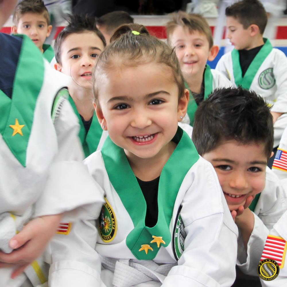 Bejanian Martial Arts Tiny tigers program (ages 3-5)