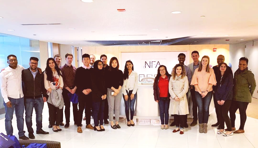 The National Futures Association is a self regulatory organization for the U.S. Derivatives Industry. Brothers had the chance to learn more about the company culture and meet a few UIC alumni during the NFA site visit.