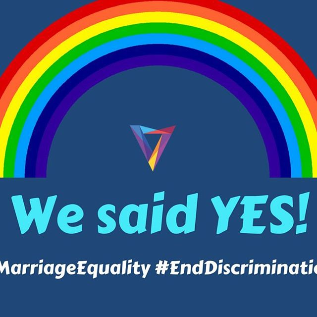 We are thrilled to see the 'YES' outcome of the marriage equality vote - with every state and territory showing a majority yes vote! ⠀ ⠀ We stand in solidarity with LGBTIQA women, girls, families and communities across Australia. This outcome highlights that together we can lead change in our communities! ⠀ ⠀ We now call on the Federal Government to: ⠀ ⠀ ✔️ ensure that changes to the Australian marriage law are brought before the Parliament prior to Christmas; and⠀ ⠀ ✔️ ensure that all bills before Parliament uphold all Australians' rights to be free from discrimination⠀ ⠀ #MarriageEquality #WeSaidYes #GetItDone #EndDiscrimination