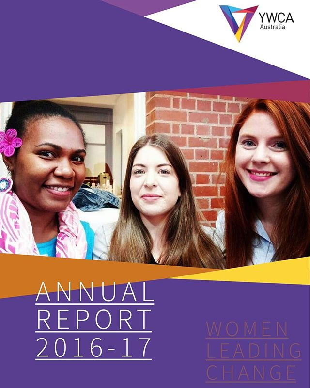 Just a friendly reminder that you can check out our 2016-2017 Annual Report on our website at ywca.org.au⠀ ⠀ In it you'll find out what we've been up to over the past year, including the National Merger Project, advocacy work, and global YWCA engagement activities! We also have a beautiful YWCA Australia History Poster in there, covering our work over the last century!⠀ ⠀ #WomenLeadingChange
