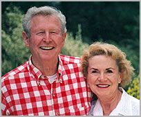 Gene and Joy Johnston    Founders of JH Ranch   Caliornia, USA