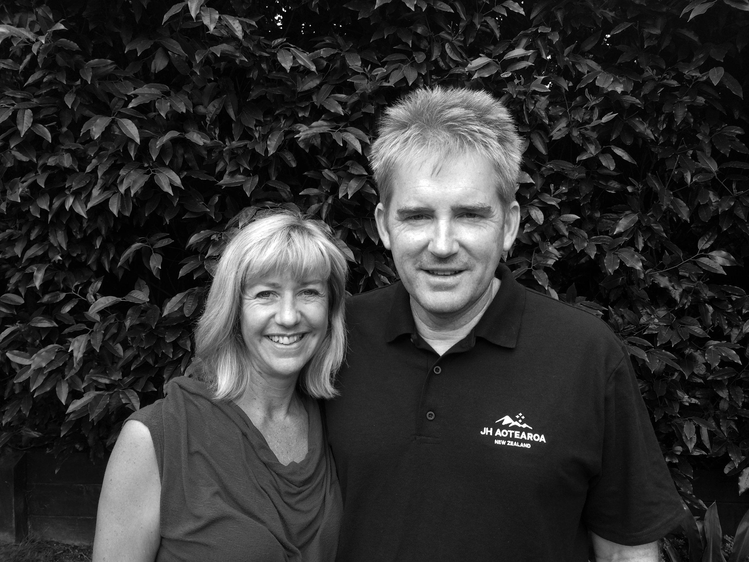 Phil and Desiree Thompson    NZ Directors, JH Aotearoa