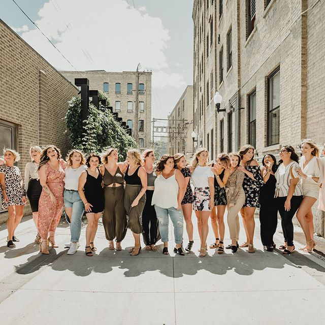 How lucky am I? These babes aren't only majorly talented, they are the sweetest and most beautiful to boot!  When your job is having to be surrounded by beautiful souls / it truly isn't work. Thanks for all of you who have made @fifthwpg a truly special place. ♥️ Photo by @blackandgoldphotography  Missing in action: Britt