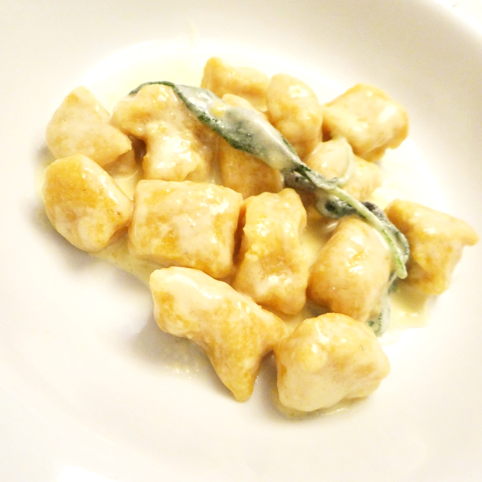 Gnocchi di Zucca