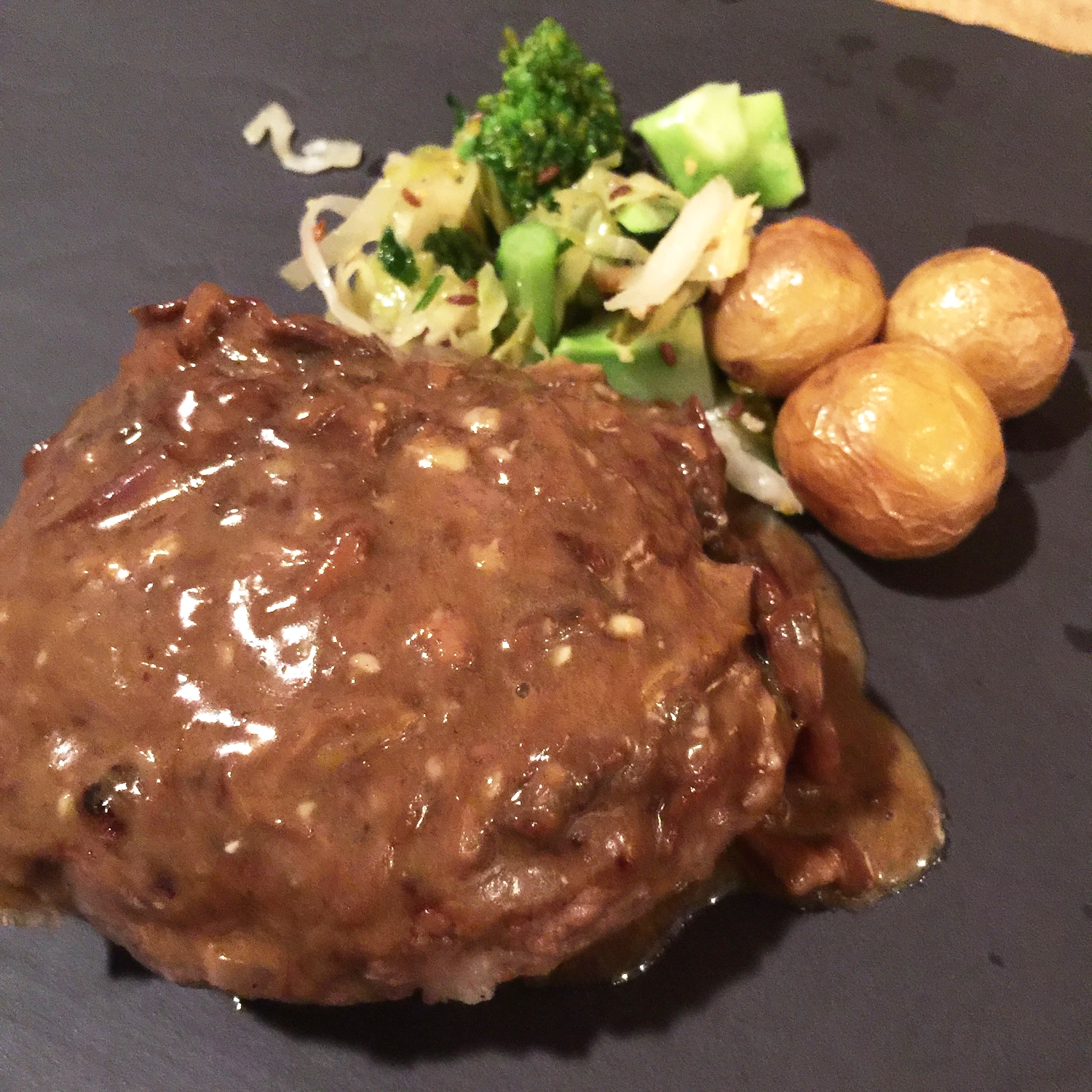 grass-fed-beef-with-guancharre-meat-ball-with-porcini-mushroom-and-egg-sauce