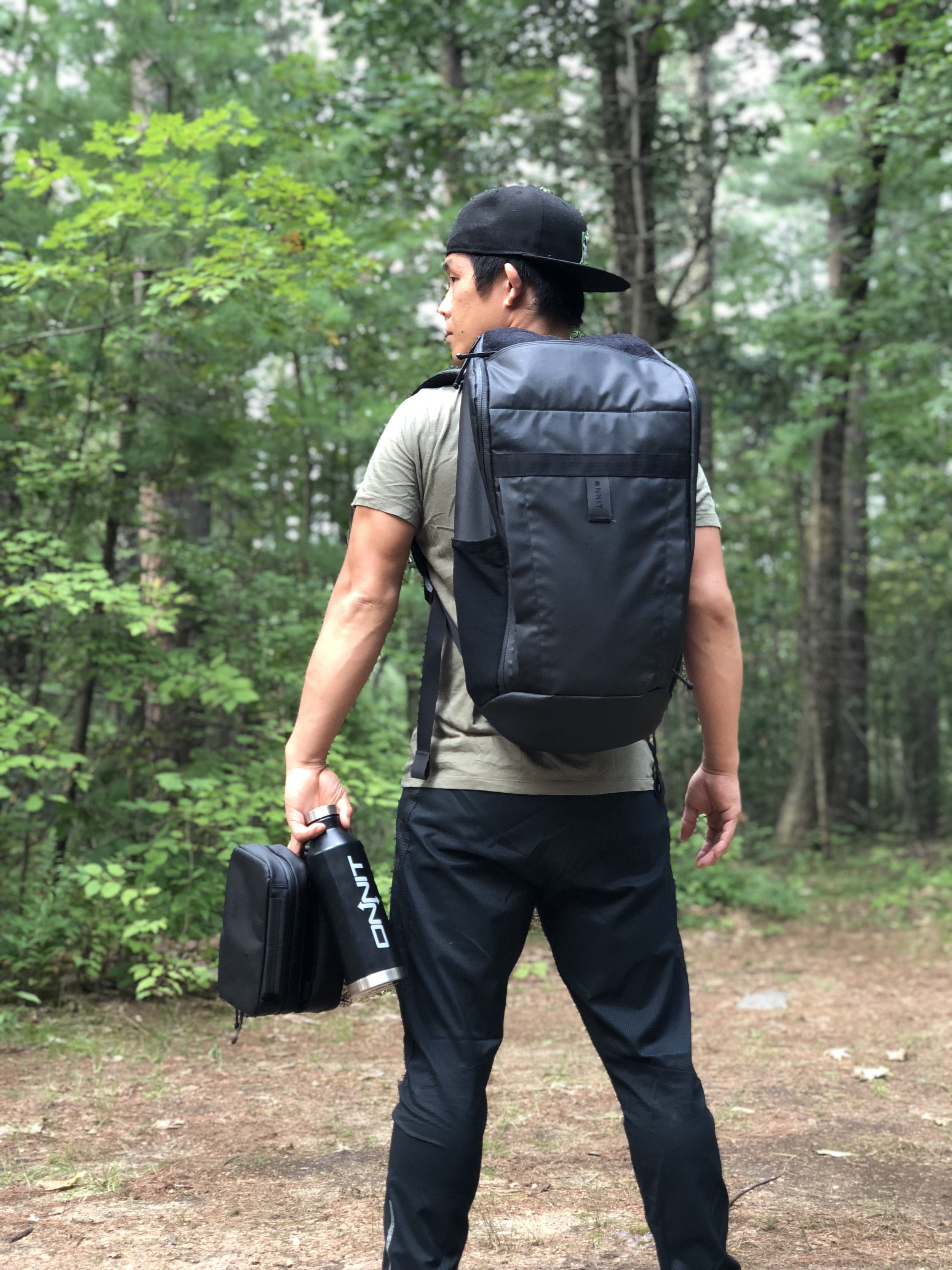Division Daypack  It's time for an upgrade. Fabricated with care from intensely durable nylon. Water and abrasion resistant. Adventure ready.