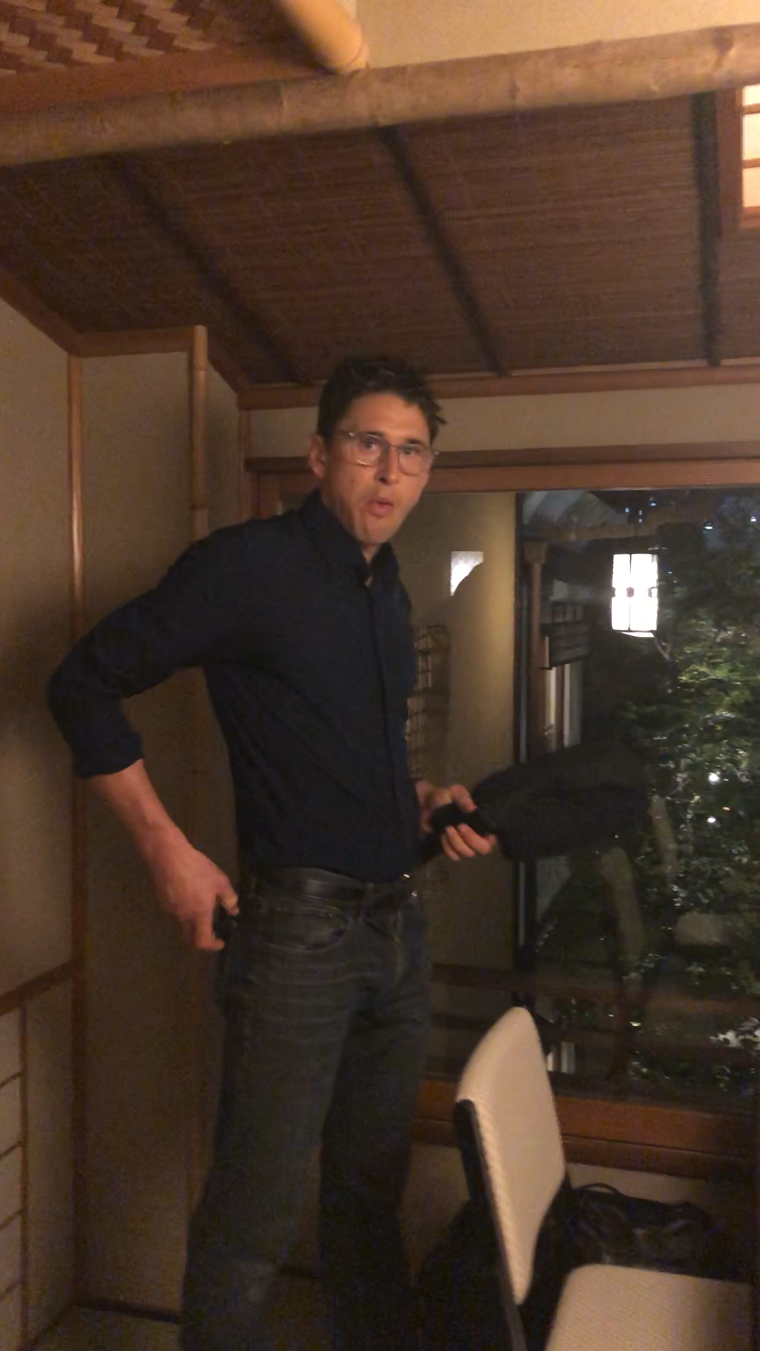Ben got surprised by private room!