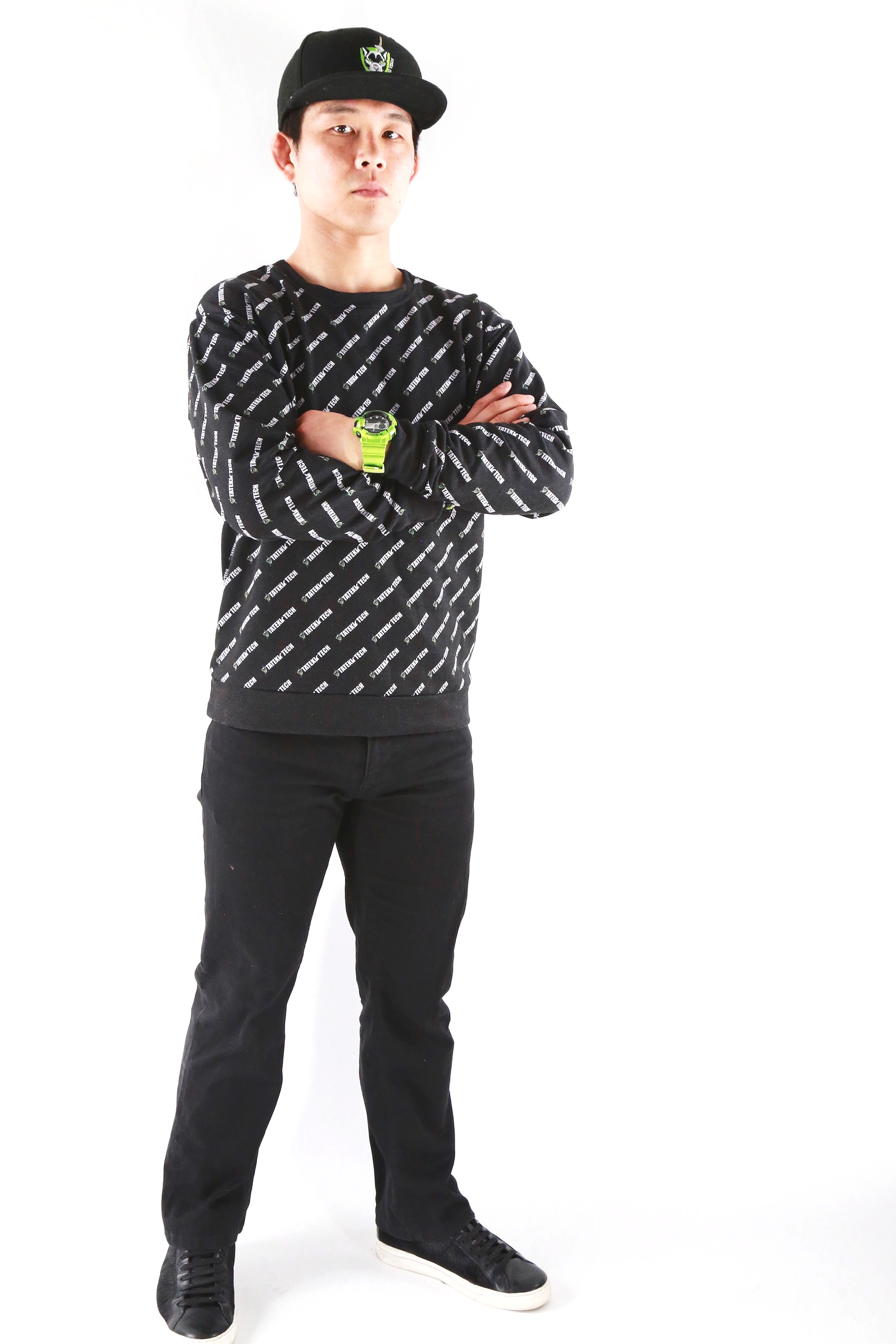 All Over Sweatshirt by Tateki Tech