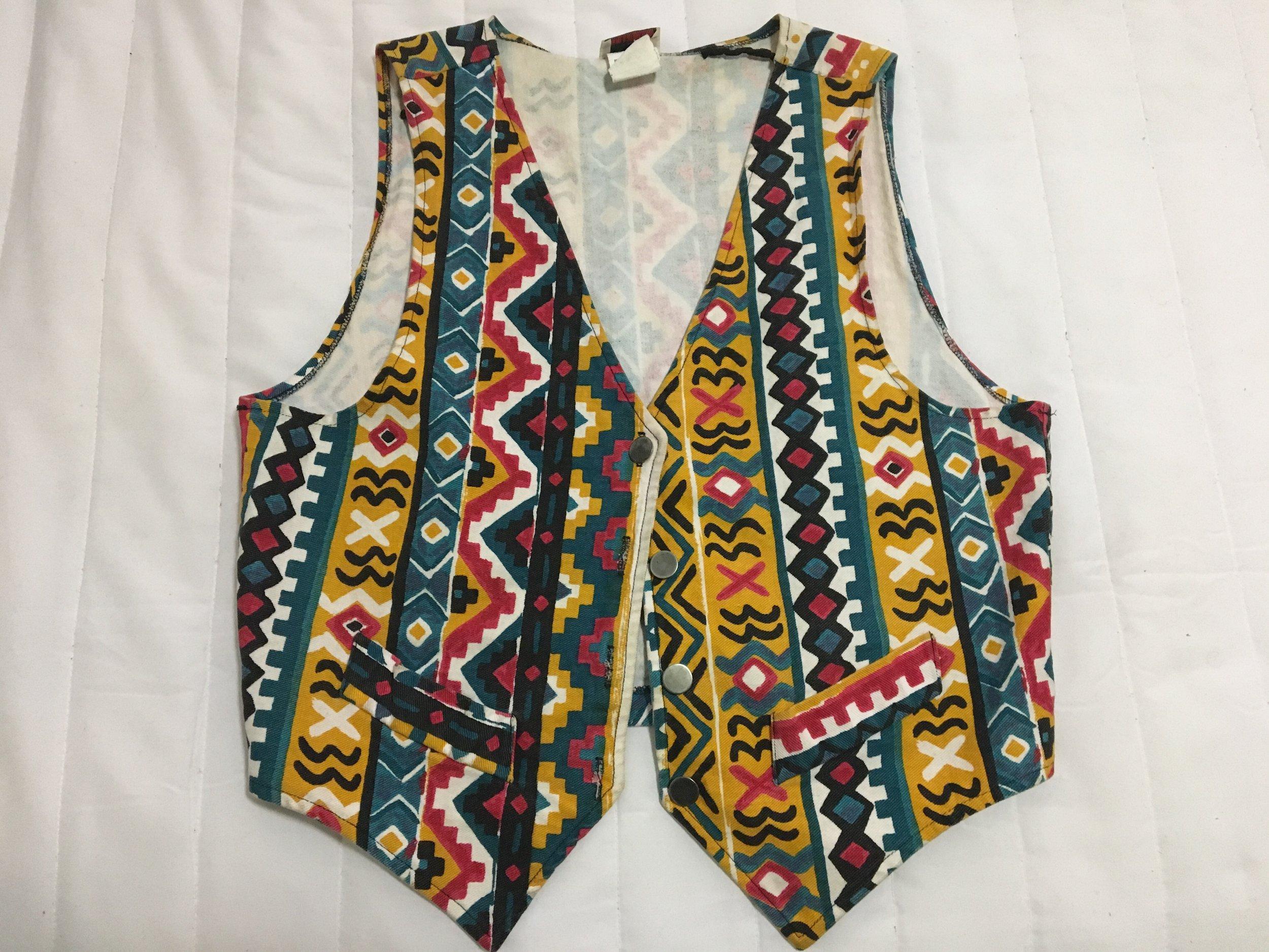 My 'Martin' vest from Etsy.com