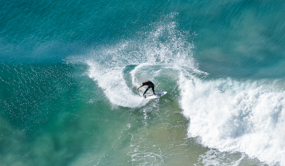 Local Lennox Head surfer Dustin Hollick. Photo: Angie Davis