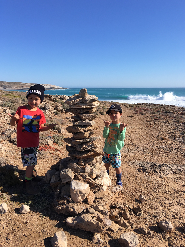 Ryder was meticulous about building the 'cairn'; this took him two days and every piece was very carefully thought-out. He has always claimed he'd like to be a Lego-builder when he grows up, and he took his Lego skills to the rocks 100%.