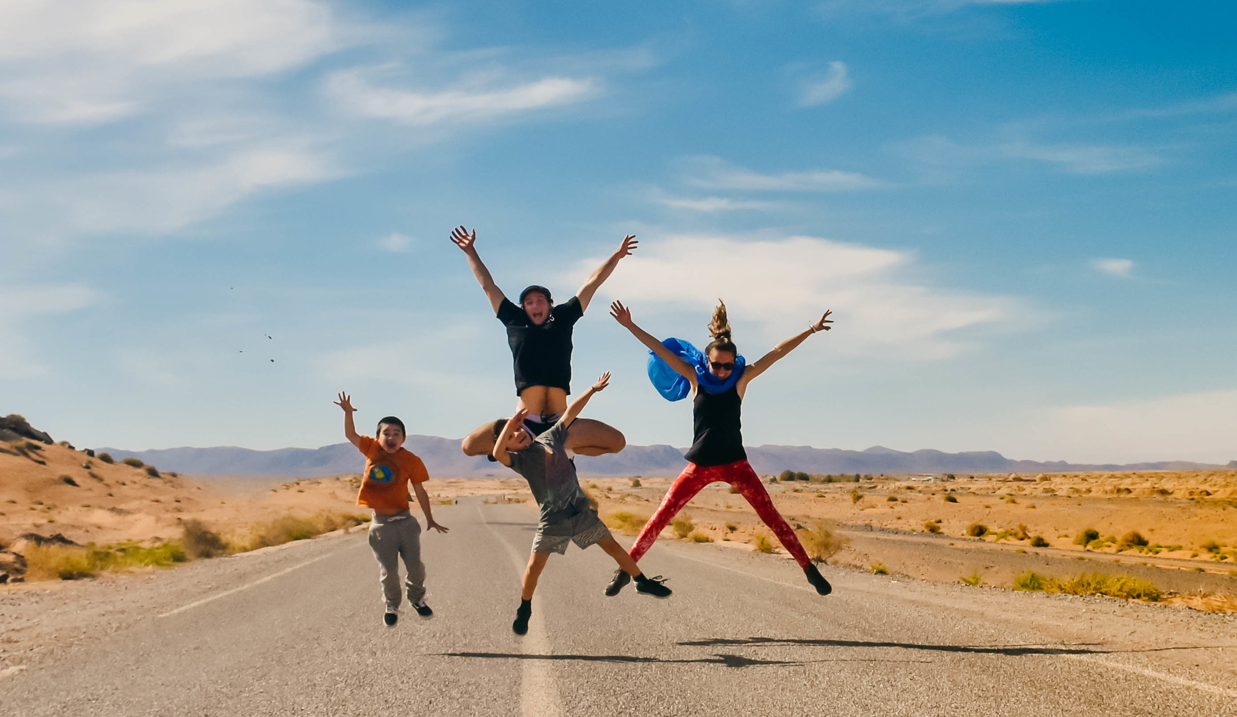 Domain Interview - Finding freedom in the unknown: Meet the young family who are professional nomads