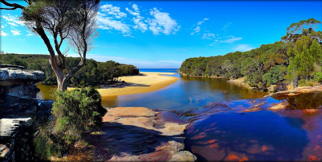 WATTAMOLLA BEACH AND FALLS