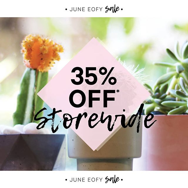 We definitely think its time you ordered some cute pots  to decorate your home with pops of colour!⠀ ⠀ Shop our cute range of planters and we promise you won't regret it, they are adorable! 😍⠀ ⠀ Receive 35% OFF STOREWIDE, simply checkout using the discount code EOFYSALE on our website!⠀ ⠀ Shop the link: https://bit.ly/2EdstMS⠀ ⠀ Offer ends June 30th 2019 - plants not included⠀ ⠀ #planters #pots #cute #style #homedecor #shop #EOFY #sale #concretehomewares #save #online #discountcode #concrete #handmadeitems