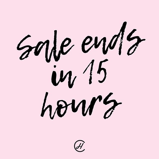 SALE ENDS IN 15 HOURS! ⏰⠀ Get in now while you can, or you'll miss out! 😭⠀ ⠀ 35% OFF STOREWIDE ends Midnight tonight!⠀ ⠀ Receive 35% OFF STOREWIDE, simply checkout using the discount code EOFYSALE on our website!⠀ ⠀ Shop the link: https://bit.ly/2EdstMS⠀ ⠀ Offer ends June 30th 2019⠀ ⠀ #finalhours #lastday #EOFY #sale #concretehomewares #save #online #discountcode #concrete #handmadeitems