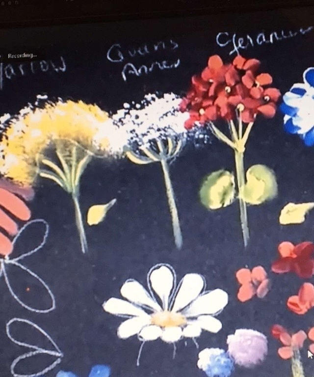 Learn how to make several different types of flowers using the same brush and technique.