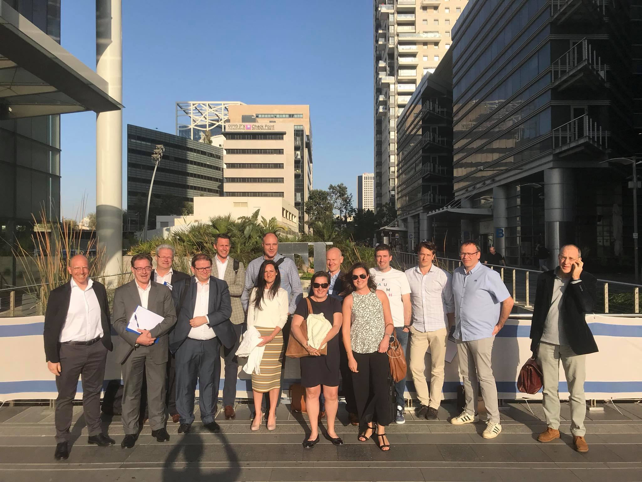 B-Hive Scouting Mission in Israel - April 2018