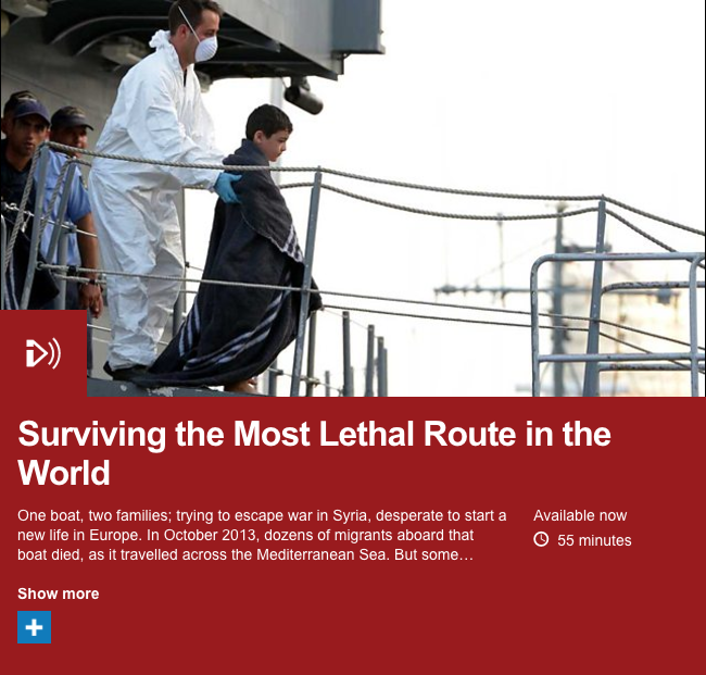 Surviving the Most Lethal Route in the World    - Shortlisted for 2015 One World Media award and Amnesty International award