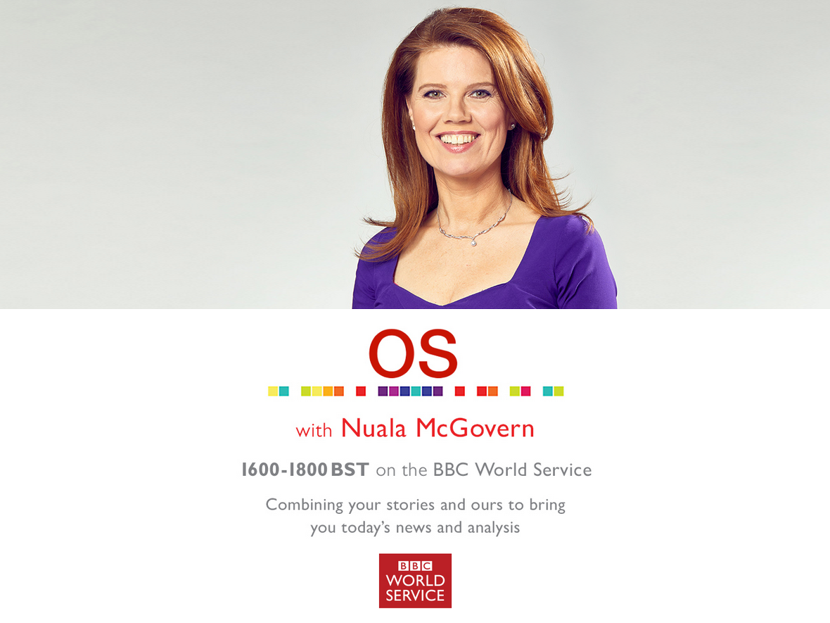 All the details of my daily radio show OS on the BBC World Service