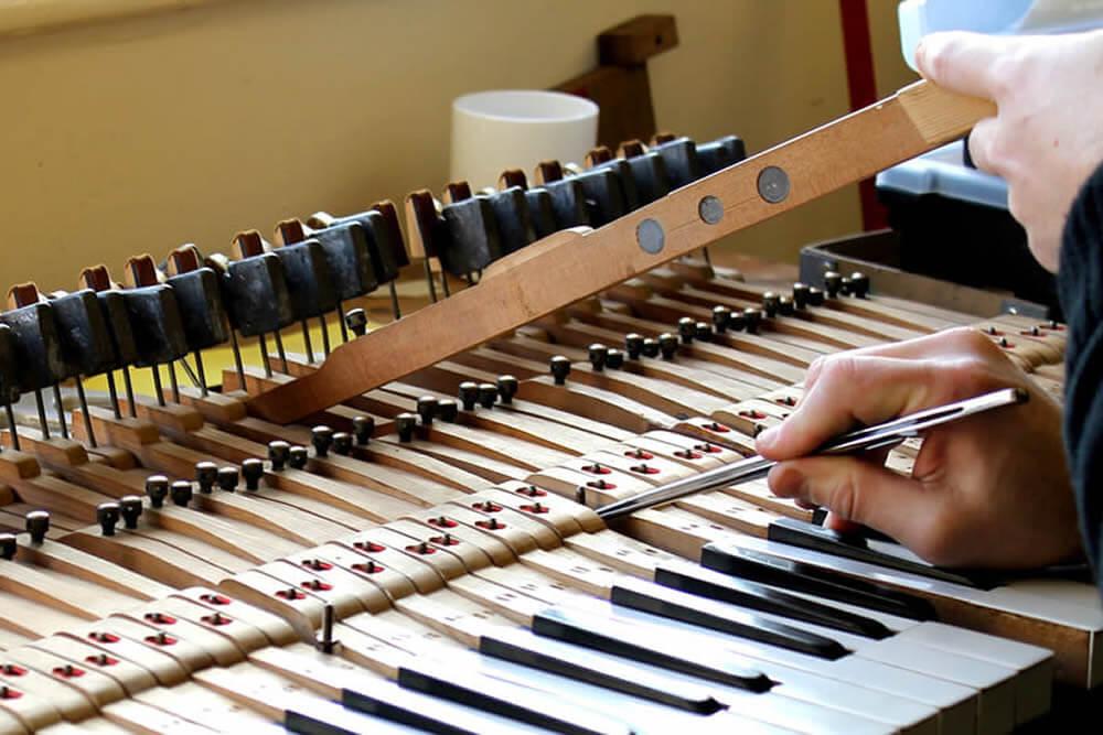 Sheffield Pianos regulation