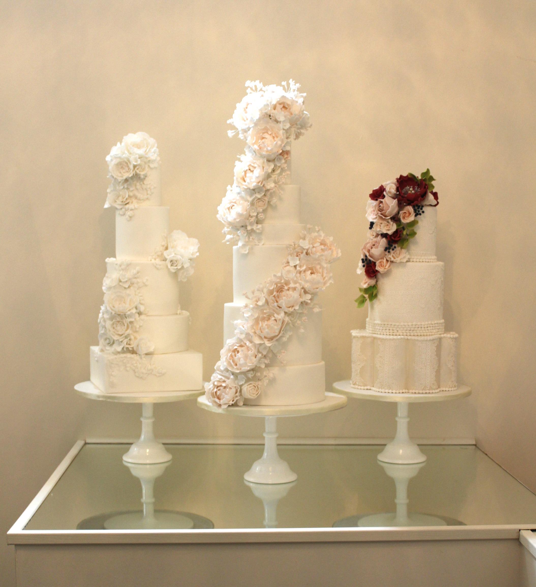 Jordana Events & Bridal Garden - Rosewood Cakes Exceptional Wedding Cakes Glasgow Scotland