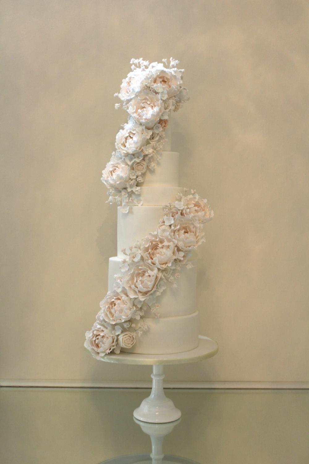 rosewood cakes - jordana events - bridal garden - glasgow - high end weddings