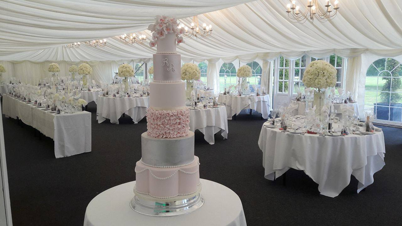 rosewood wedding cakes glasgow - beautiful luxury weddings scotland