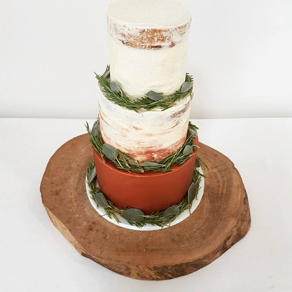 Crear Weddings - Copper Shimmer base with herbs