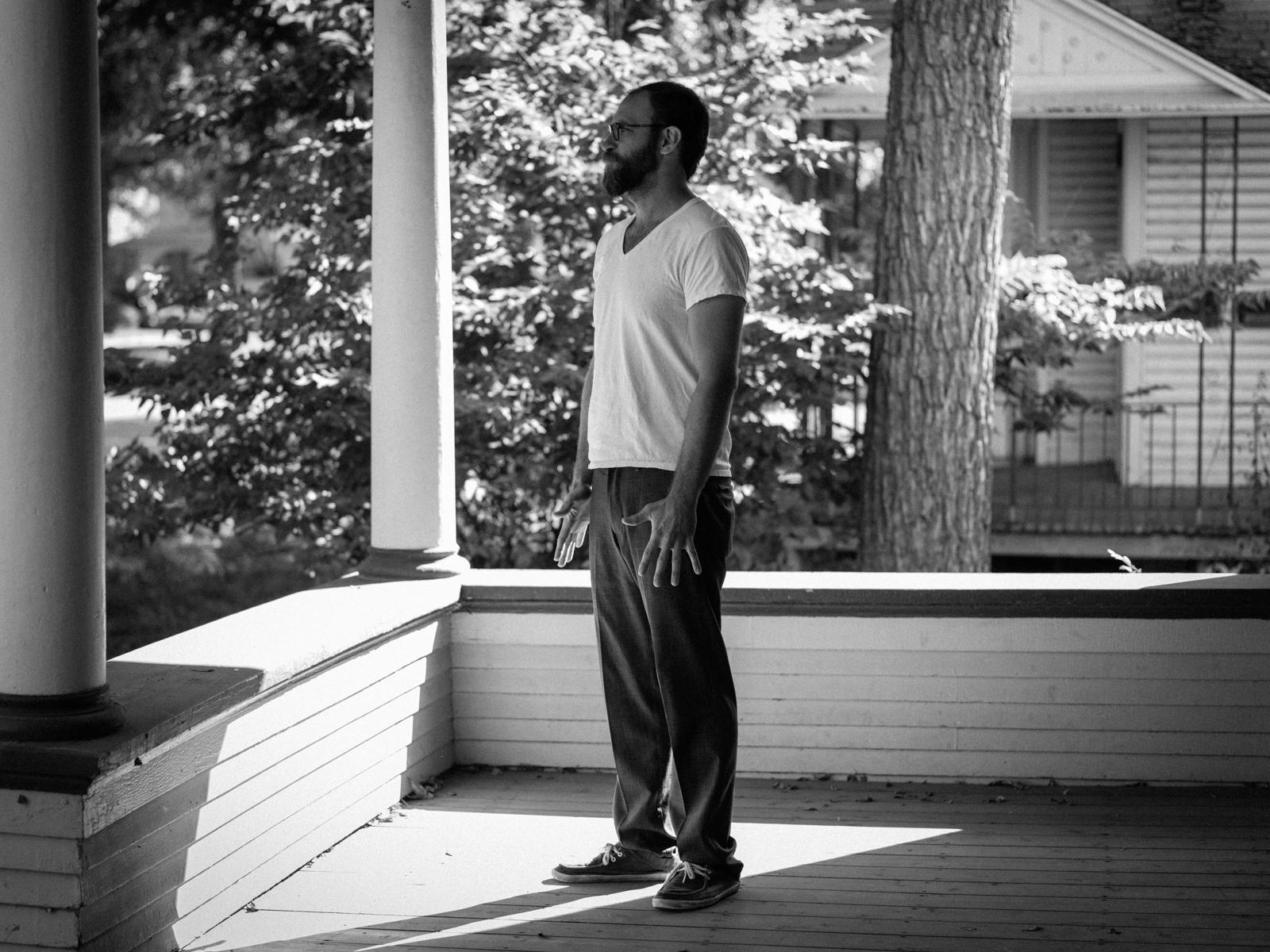 Brandon, at home, Lincoln, Nebraska, 2016