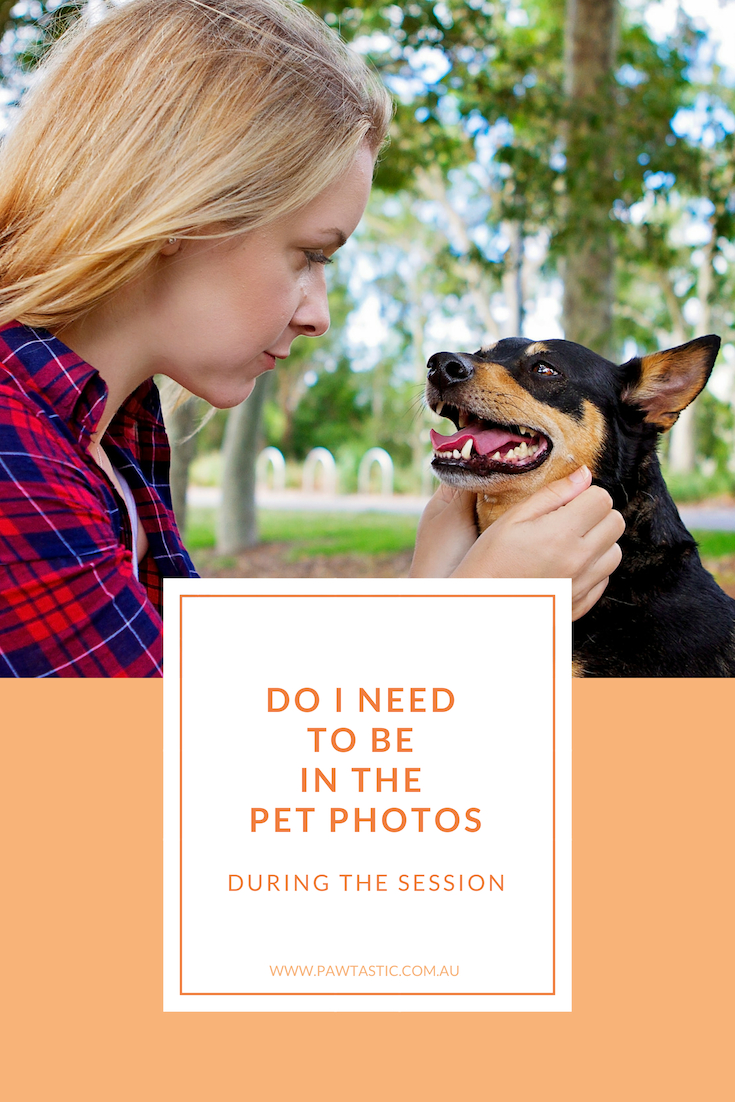Often clients are concerned about having to appear in the photos with their pet during a session. In this post, I let you know the choice is always yours. But I break down why you may want to consider being in the photos with your pet during your pet photography session.