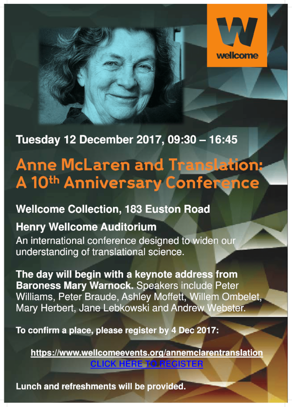 Anne McLaren 12 December poster-1.png