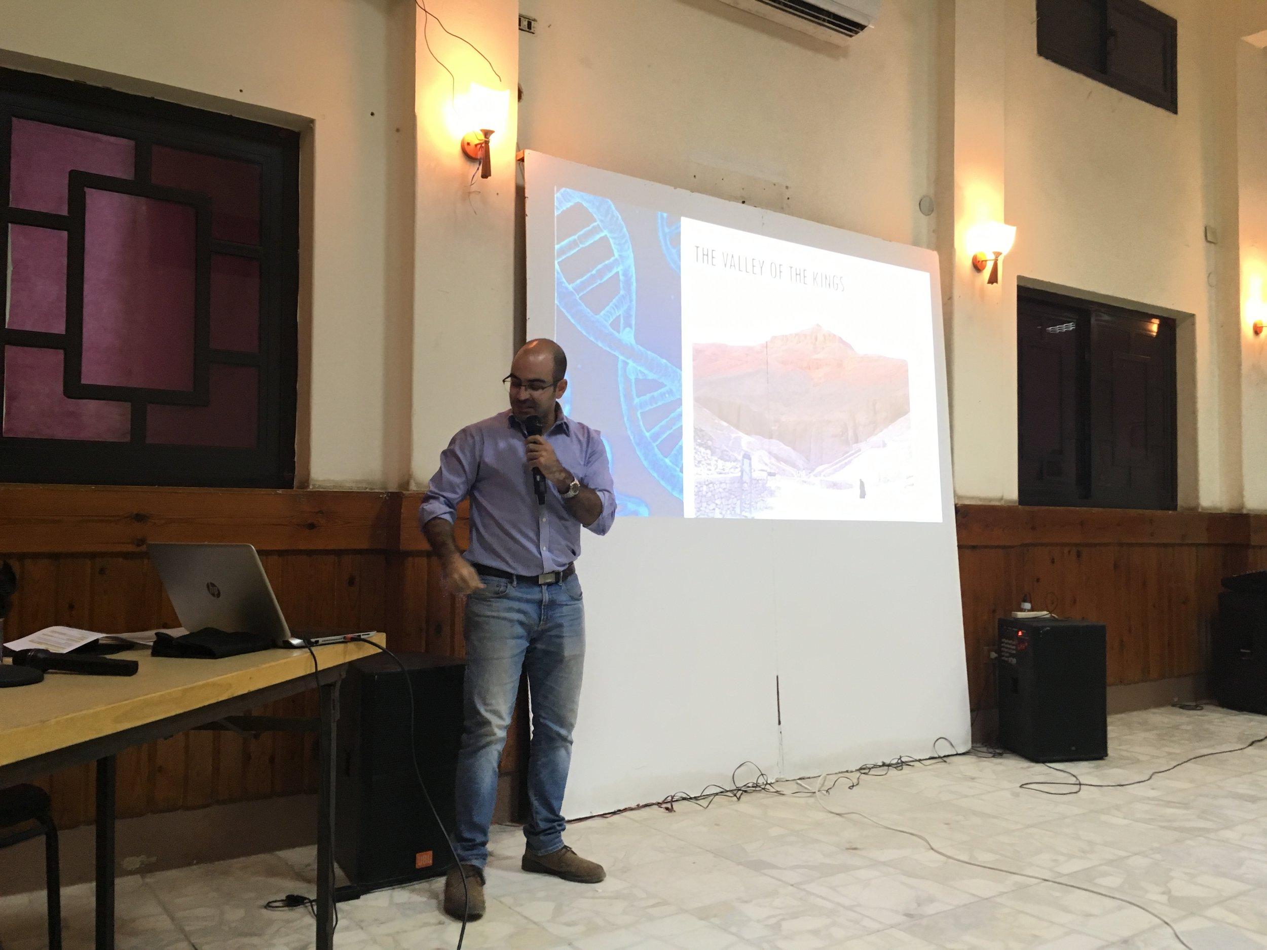presentations on Armenian DNA in goganian agoump (2).JPG