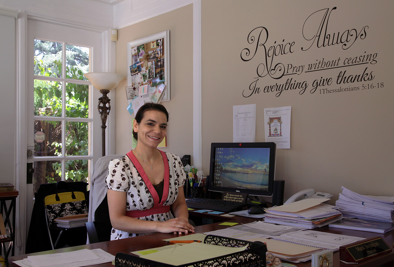 Maral Boyajian, Principal of Sahag Mesrob Armenian Christian School