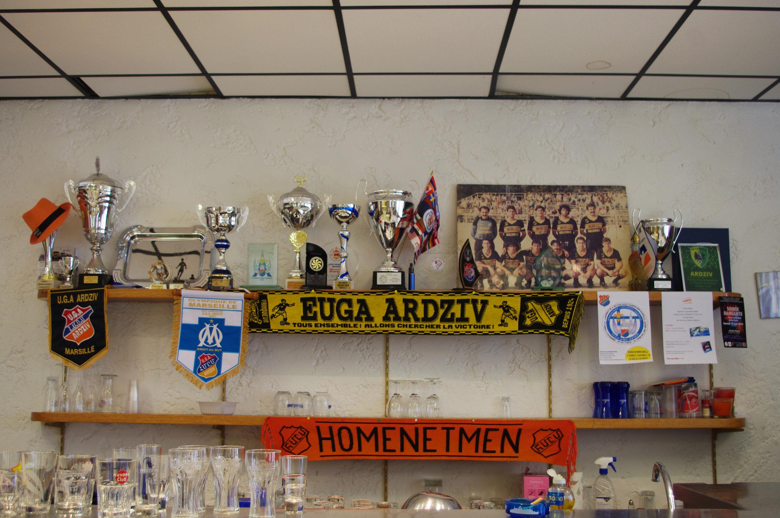 Club de football arménien à Marseille UGA Ardziv