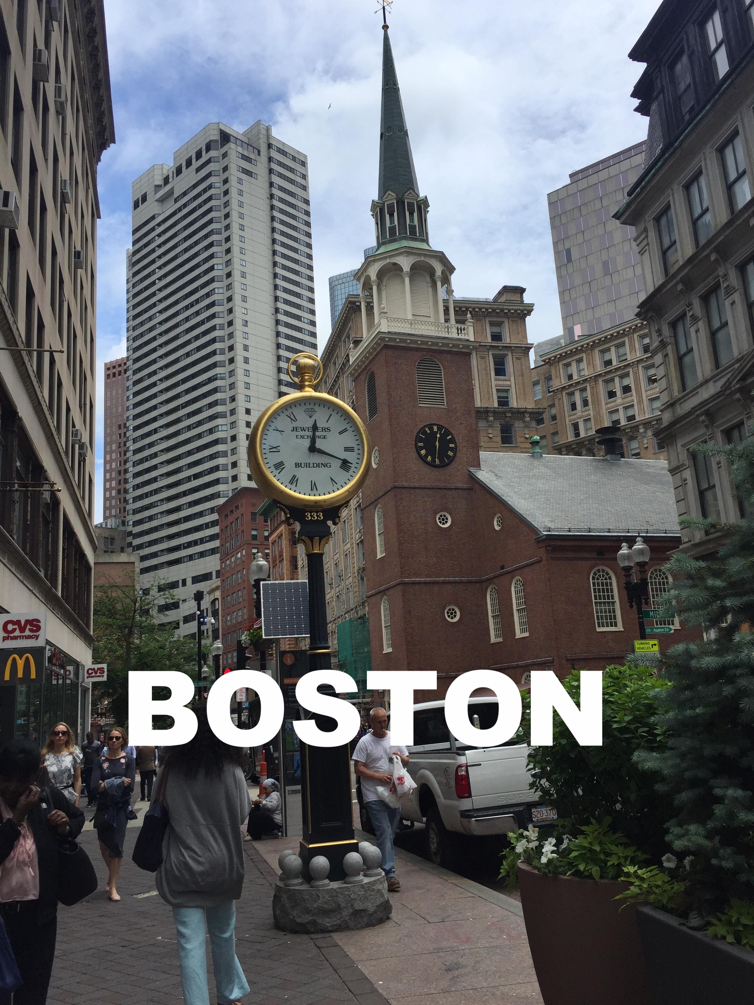 Boston. Photo Credit: Chloe Barran