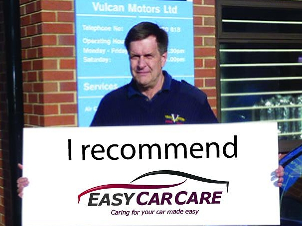 Robin & Julie, the owners at Vulcan Motors in Sandhurst, are proud to be a selected Partner Garage of the EasyCarCare Network