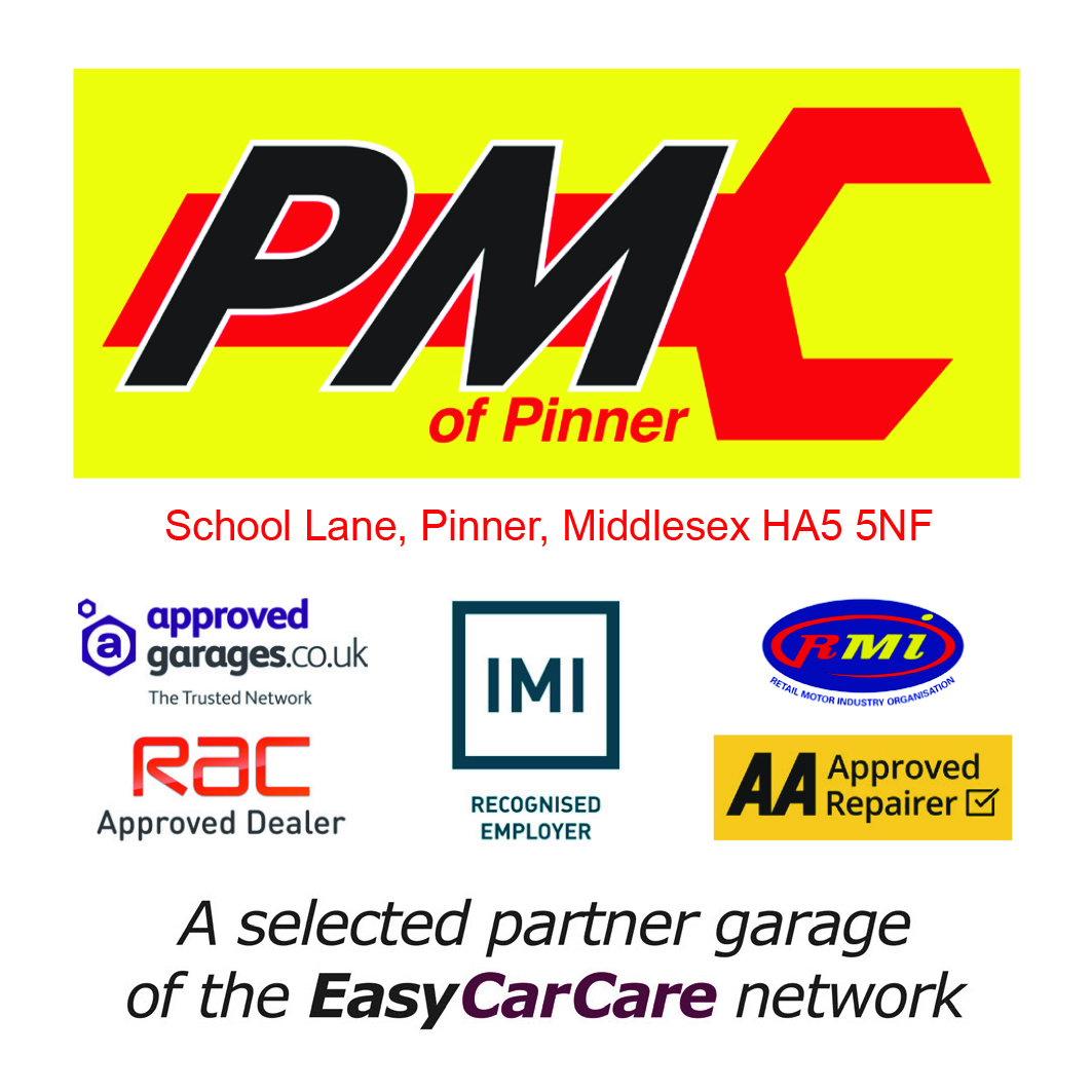 PMC of Pinner is proud to be a selected Partner Garage of the EasyCarCare Network