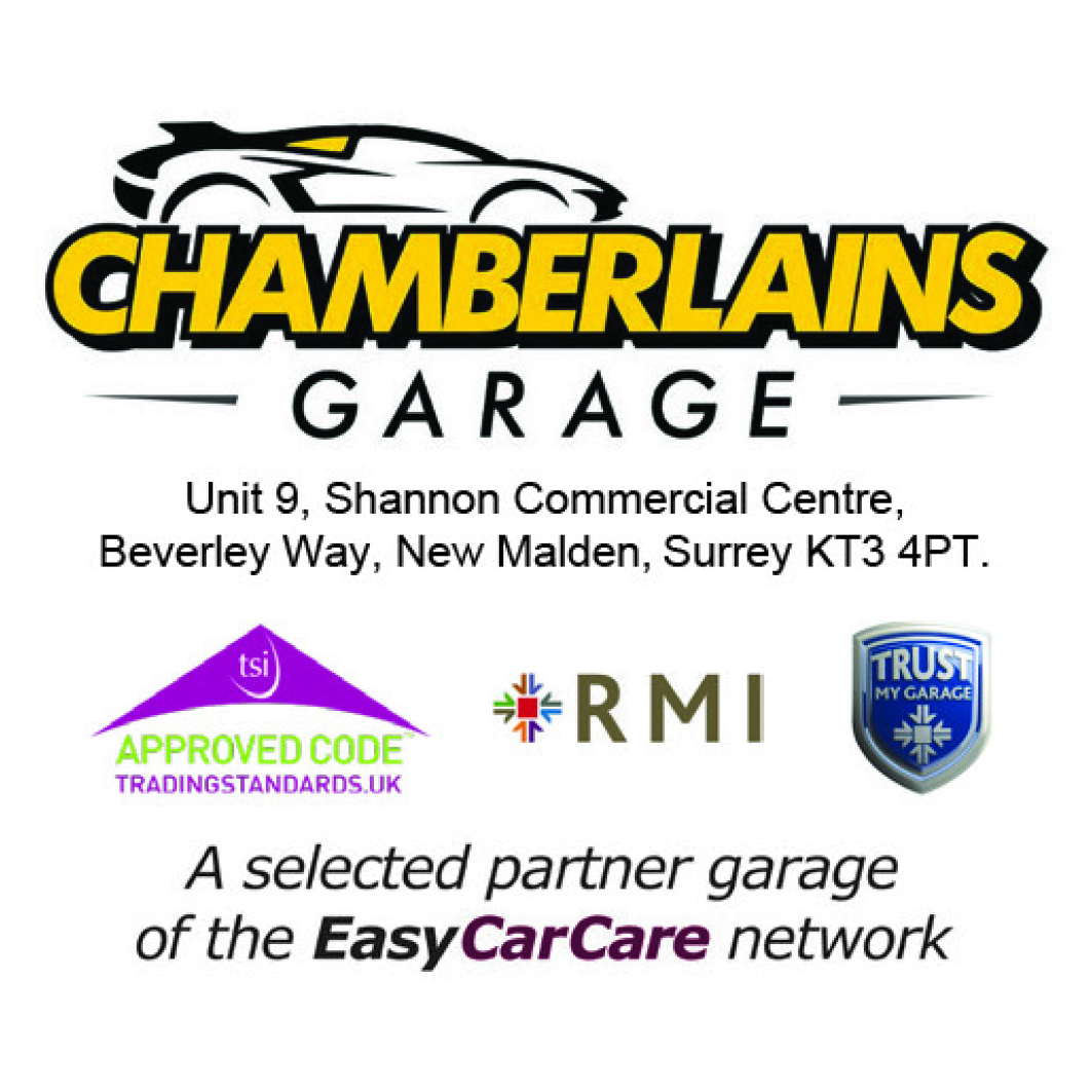 Chamberlains Garage is proud to be a selected Partner Garage of the EasyCarCare Network