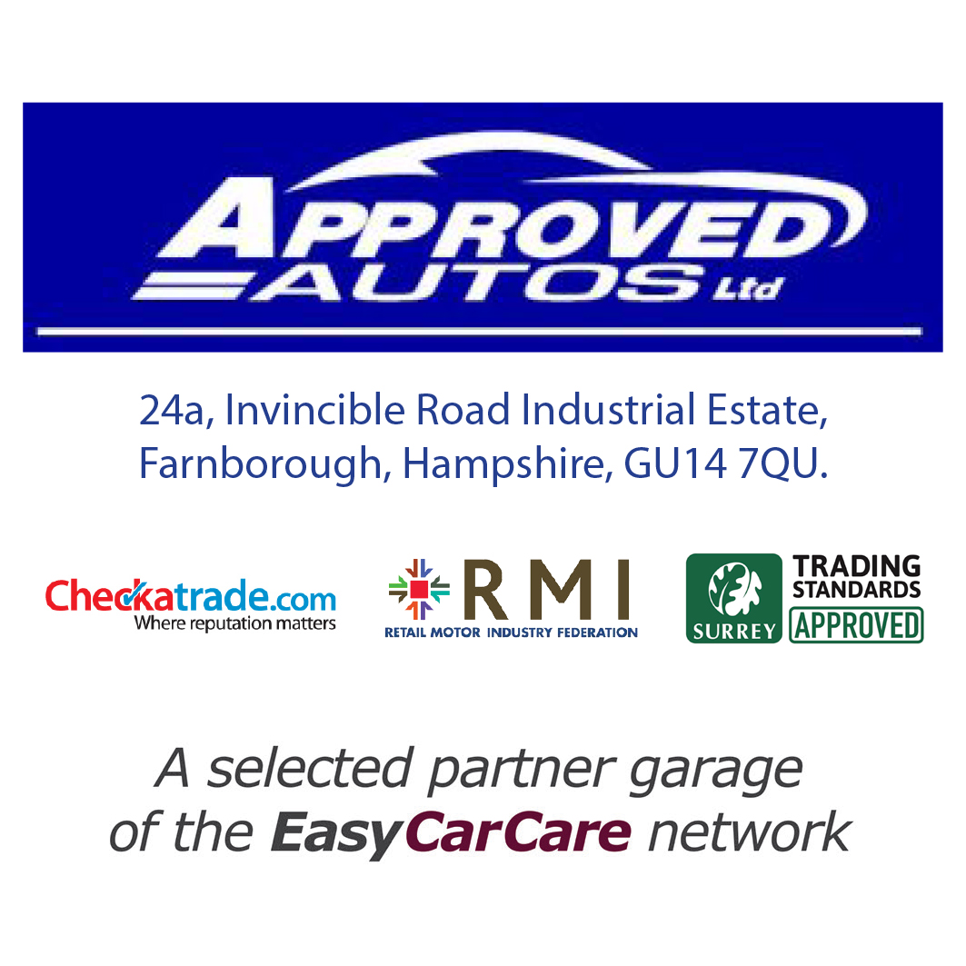 Approved Autos Ltd are proud to be a selected Partner Garage of the EasyCarCare Network