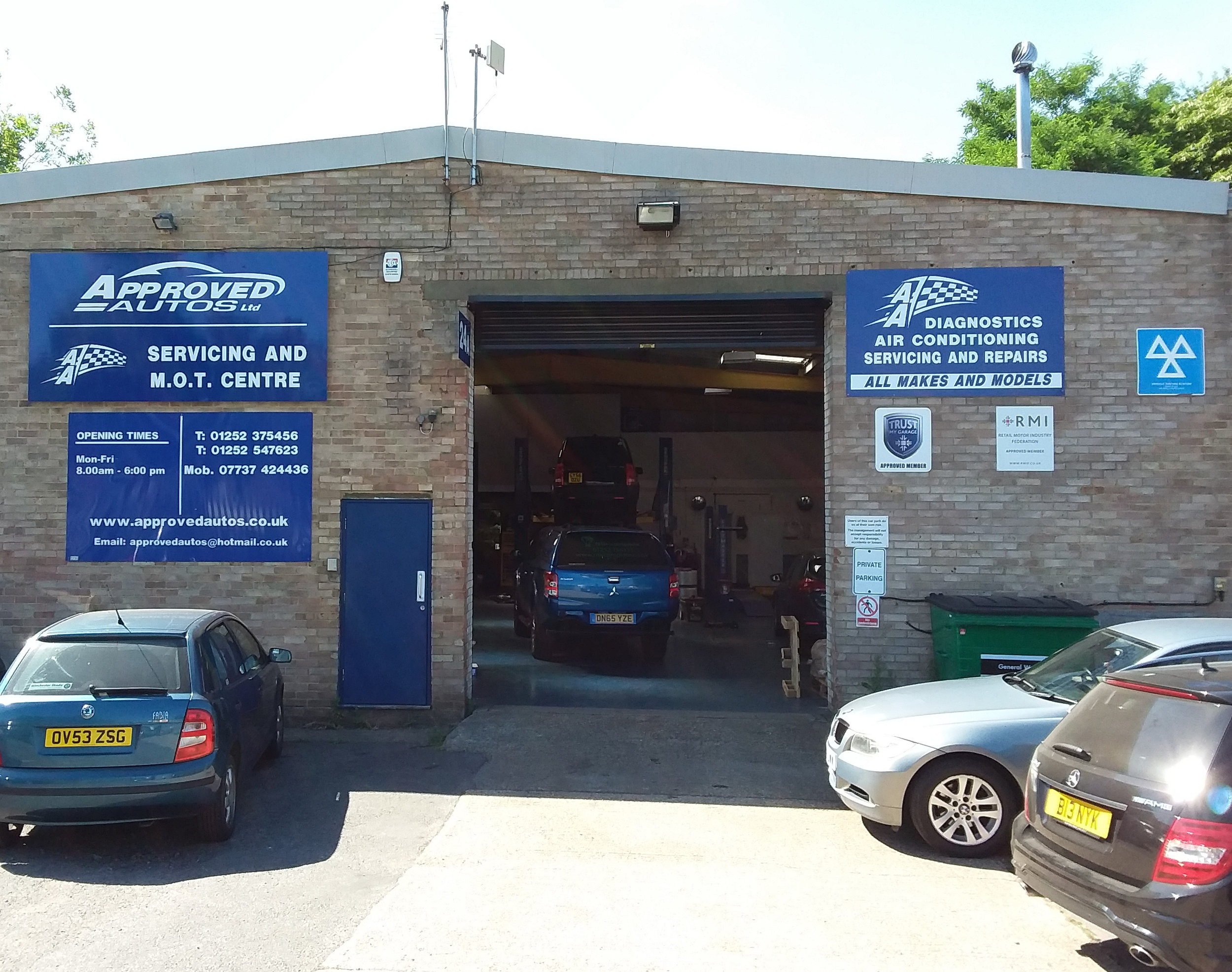 Approved Autos Ltd - Farnborough