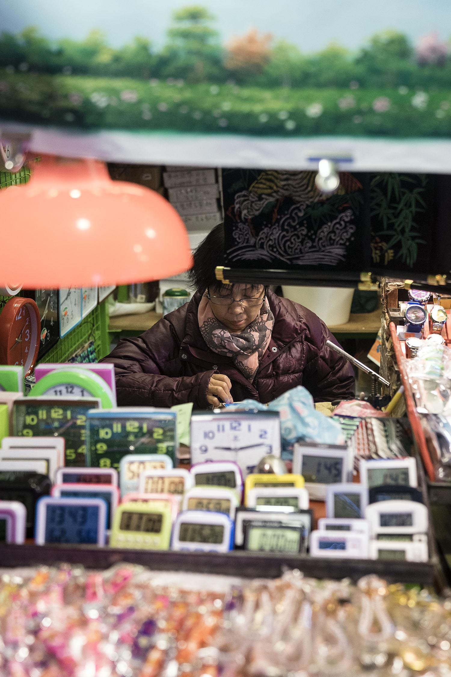 Stall Owner Sham Shui Po